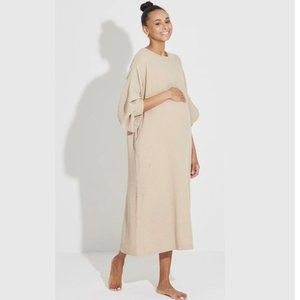 NWT H&M Taupe Beige Tunic Long Sleeve Dress